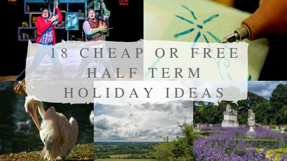 18 cheap or free family activities in half term