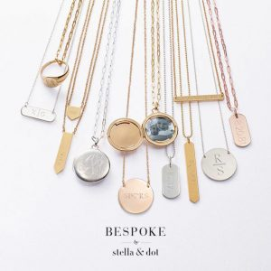 Beautifully engraved jewellery for mothers day