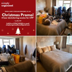 Simply organised Christmas Promo