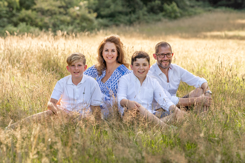 Five reasons to have a Surrey family photoshoot in August