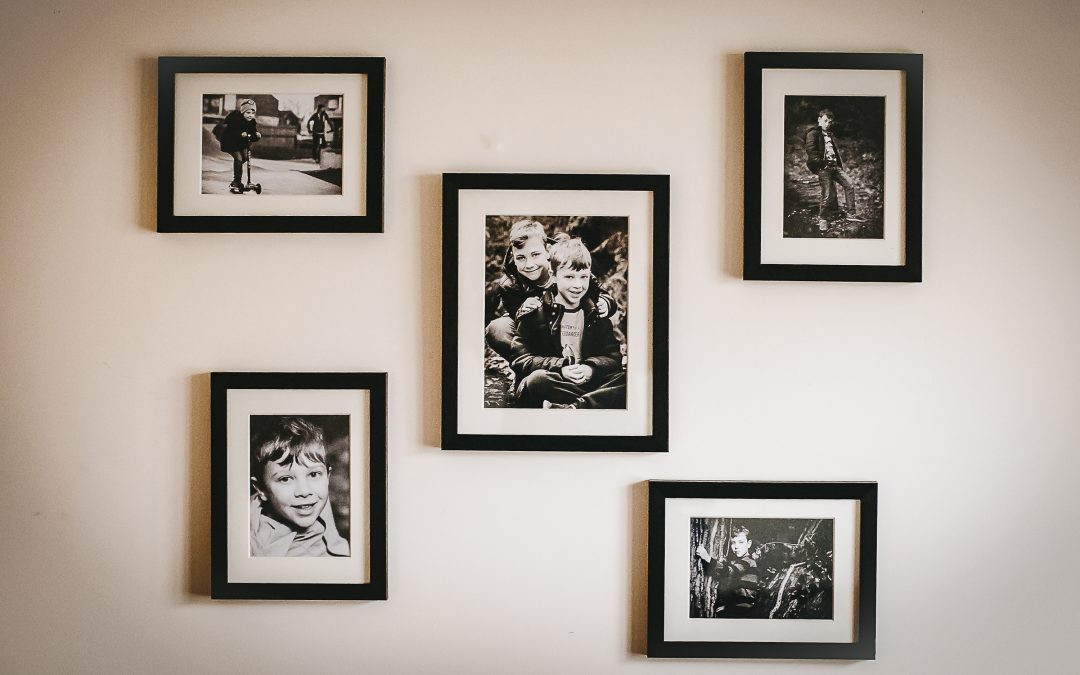How to create your own family photography wall gallery