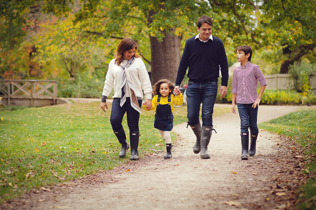 Family photoshoot in Teddington
