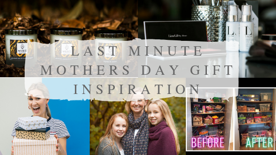 Last minute Mother's day gifts Surrey