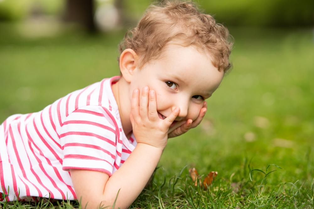 Little girl on Surrey Family Photoshoot