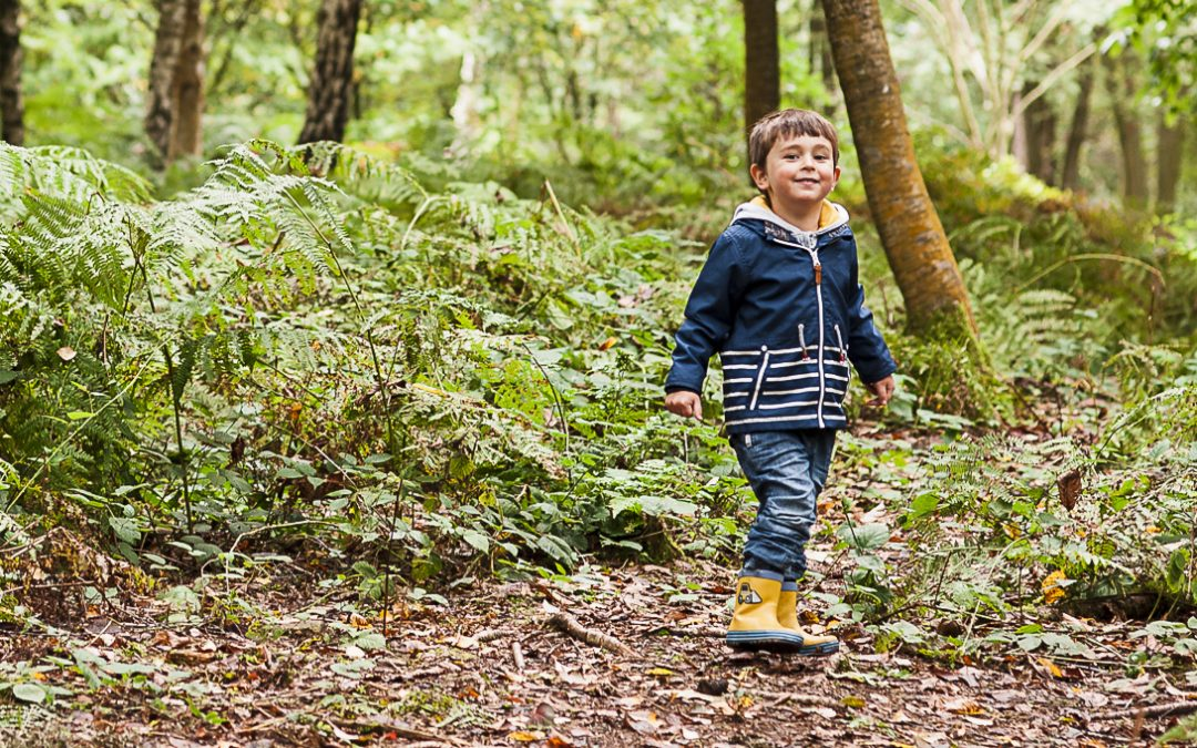 Top five autumn family photoshoot locations in Surrey